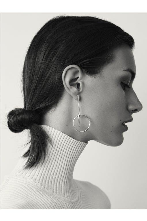 Image of LOOP Earring Silver