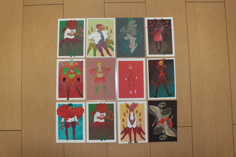 Image of Post Card Set