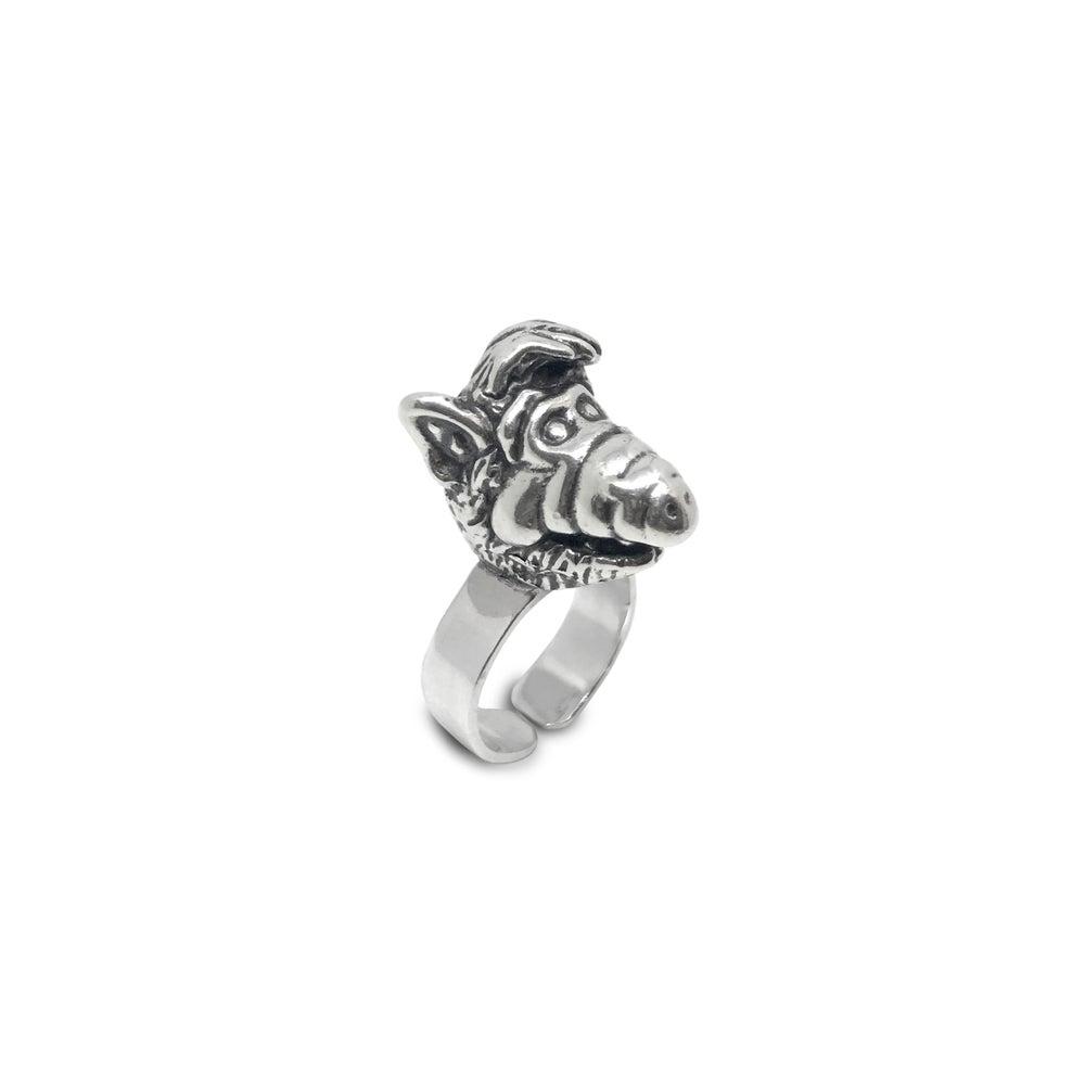 Image of ALF Silver Ring  / Anillo ALF plata