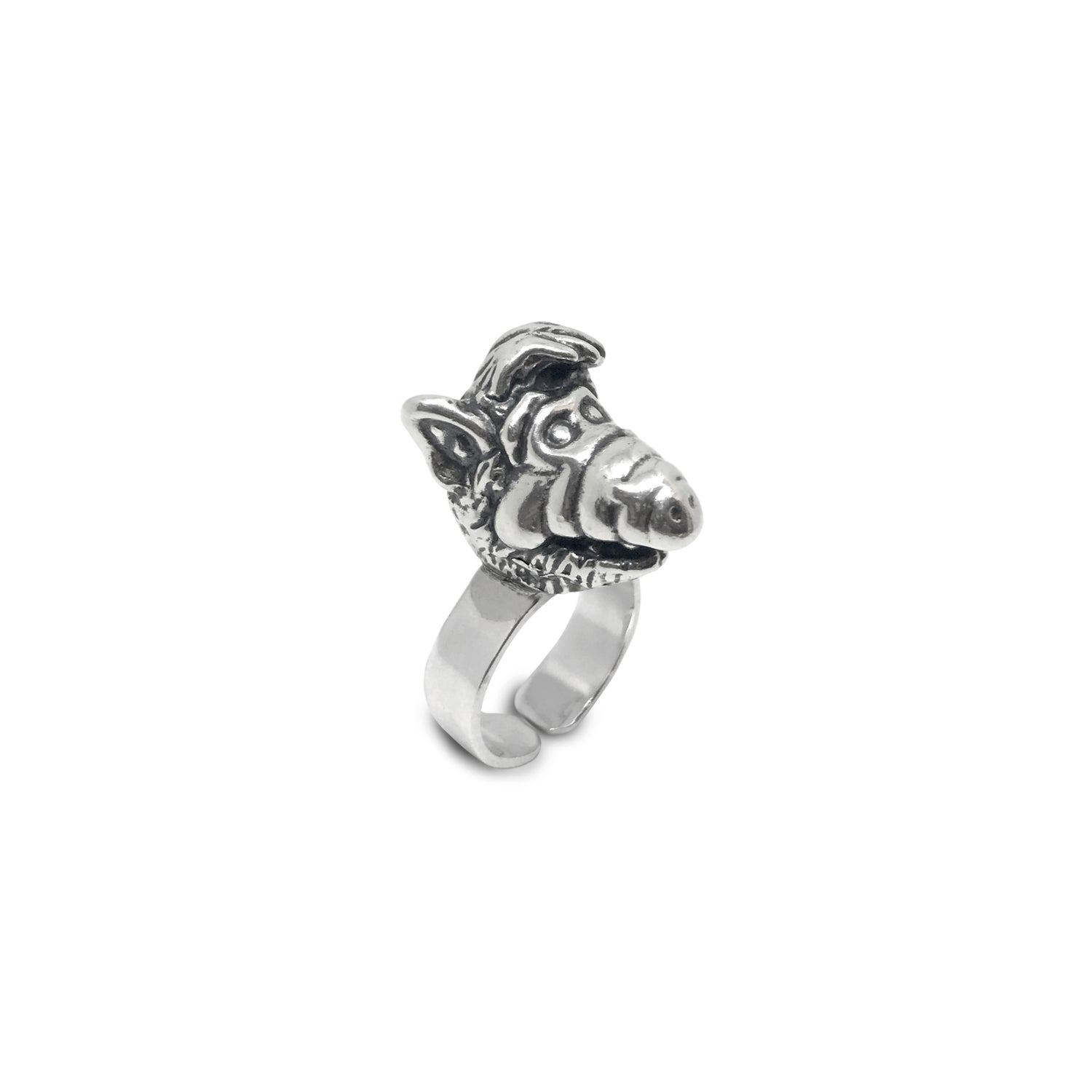 Image of ALF Silver Ring  / Anillo ALF plata