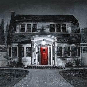 "Image of ""Thompson House"" - 5"" x 5"" giclee"