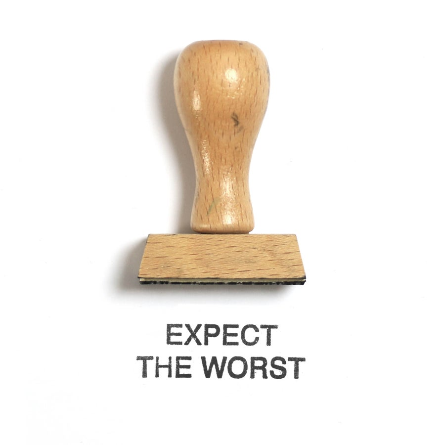 Image of Expect the worst