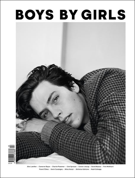 Image of BOYS BY GIRLS ISSUE 13 | TALES OF A NEW GENERATION | PRINT ISSUE | COLE SPOUSE COVER