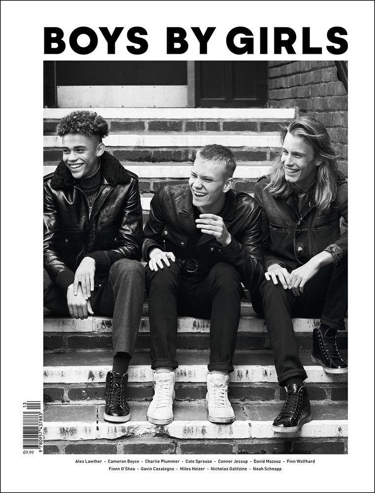 Image of BOYS BY GIRLS ISSUE 13 | TALES OF A NEW GENERATION | PRINT ISSUE | LIMITED EDITION COVER