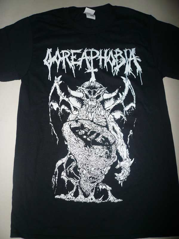 """Image of Goreaphobia """" Necropolis Offering """" T shirt"""