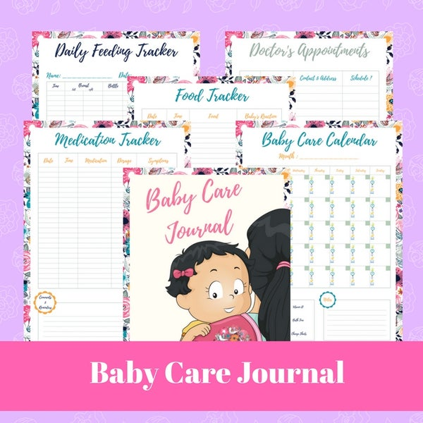 Image of Baby Care Journal