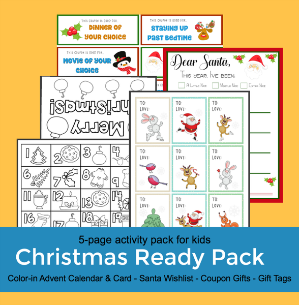 Image of Christmas-Ready Activity Pack