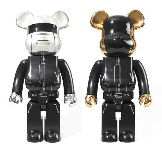 Image of 1000% Daft Punk Bearbrick, 2012 (Pair)