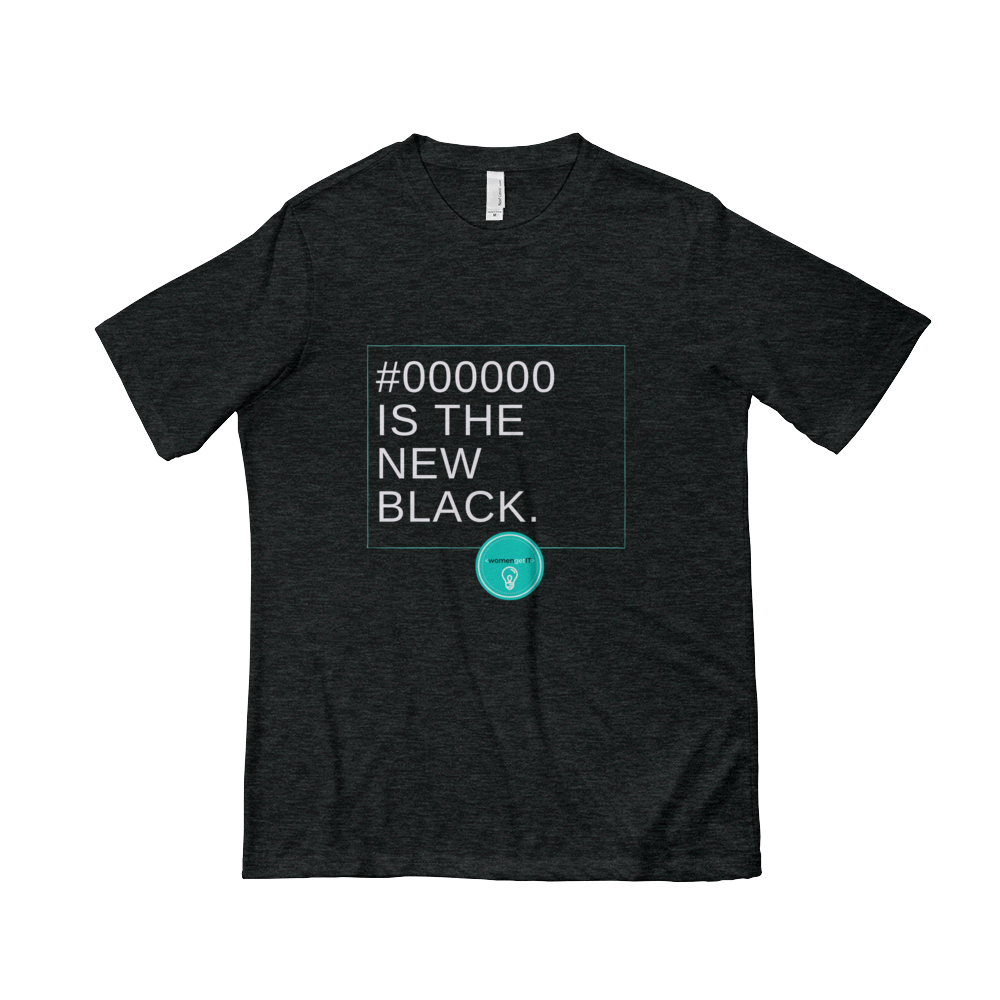 Image of Limited Edition - #000000 is the New Black T-shirt