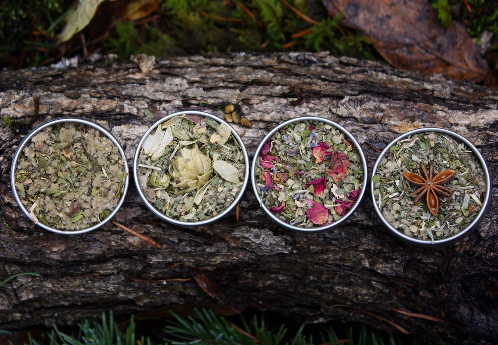 Image of Pipe Tea Herbal Smoking Blend Sampler Set