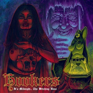 "Image of HOOKERS ""It's Midnight... The Witching Hour"" CD"