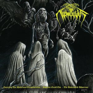 """Image of NECROCCULTUS """"Encircling the Mysterious Necorevelation"""" CD"""