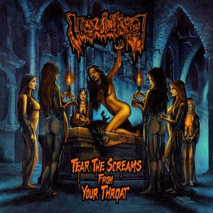 "Image of HOWLING ""Tear The Screams From Your Throat"" CD"