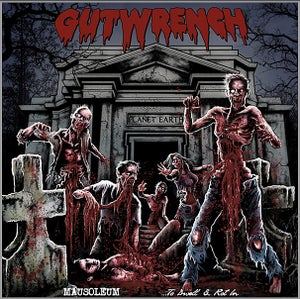 """Image of GUTWRENCH """"Mausoleum... To Dwell & Rot In"""" CD"""