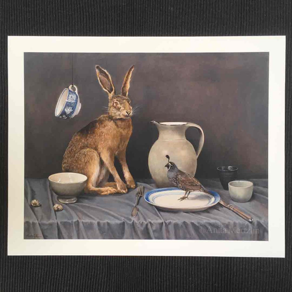 Image of Hare and Quail