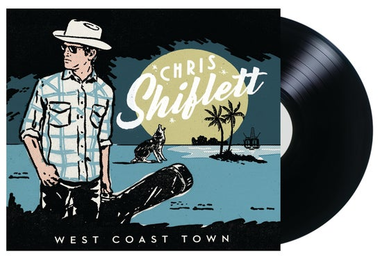 Image of (PRE-ORDER) Chris Shiflett - West Coast Town (LP)