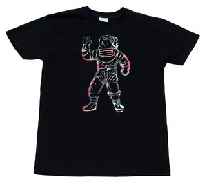 Image of Astro Camo Tee Black