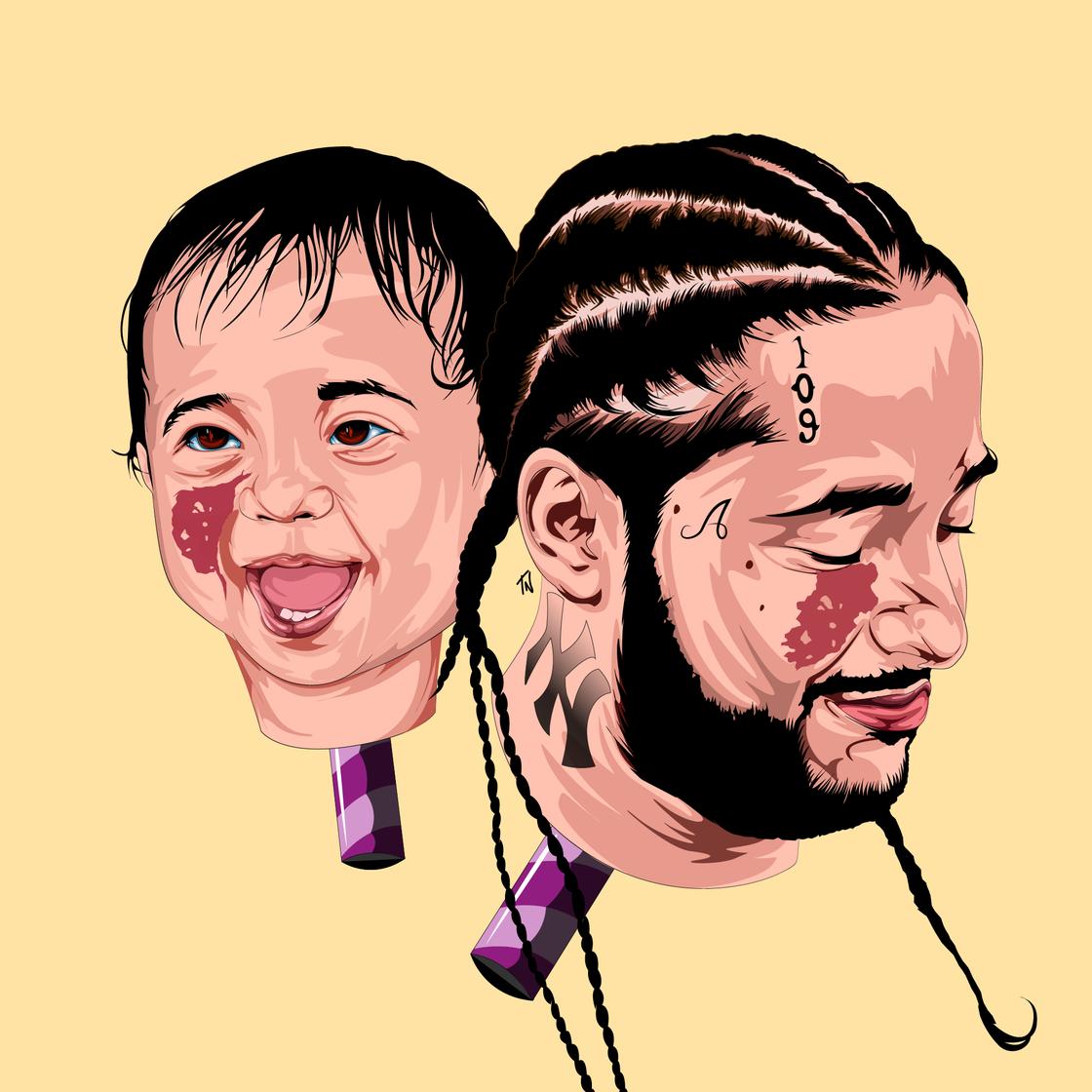 Image of BABY YAMS Print