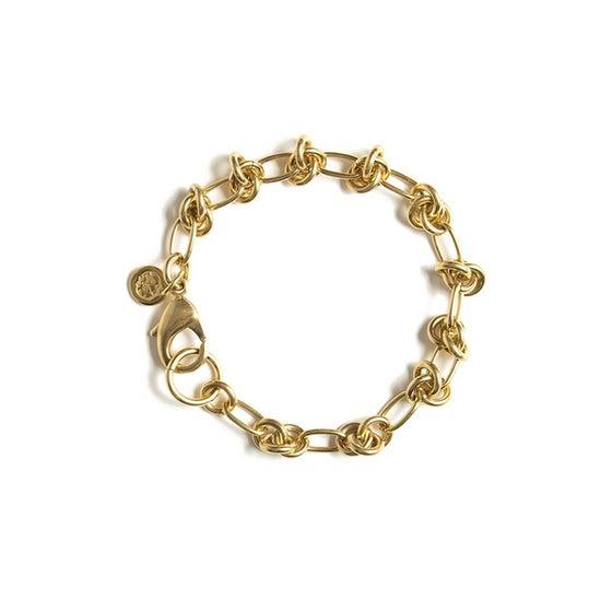 Image of Bracelet NAZAR plaqué or
