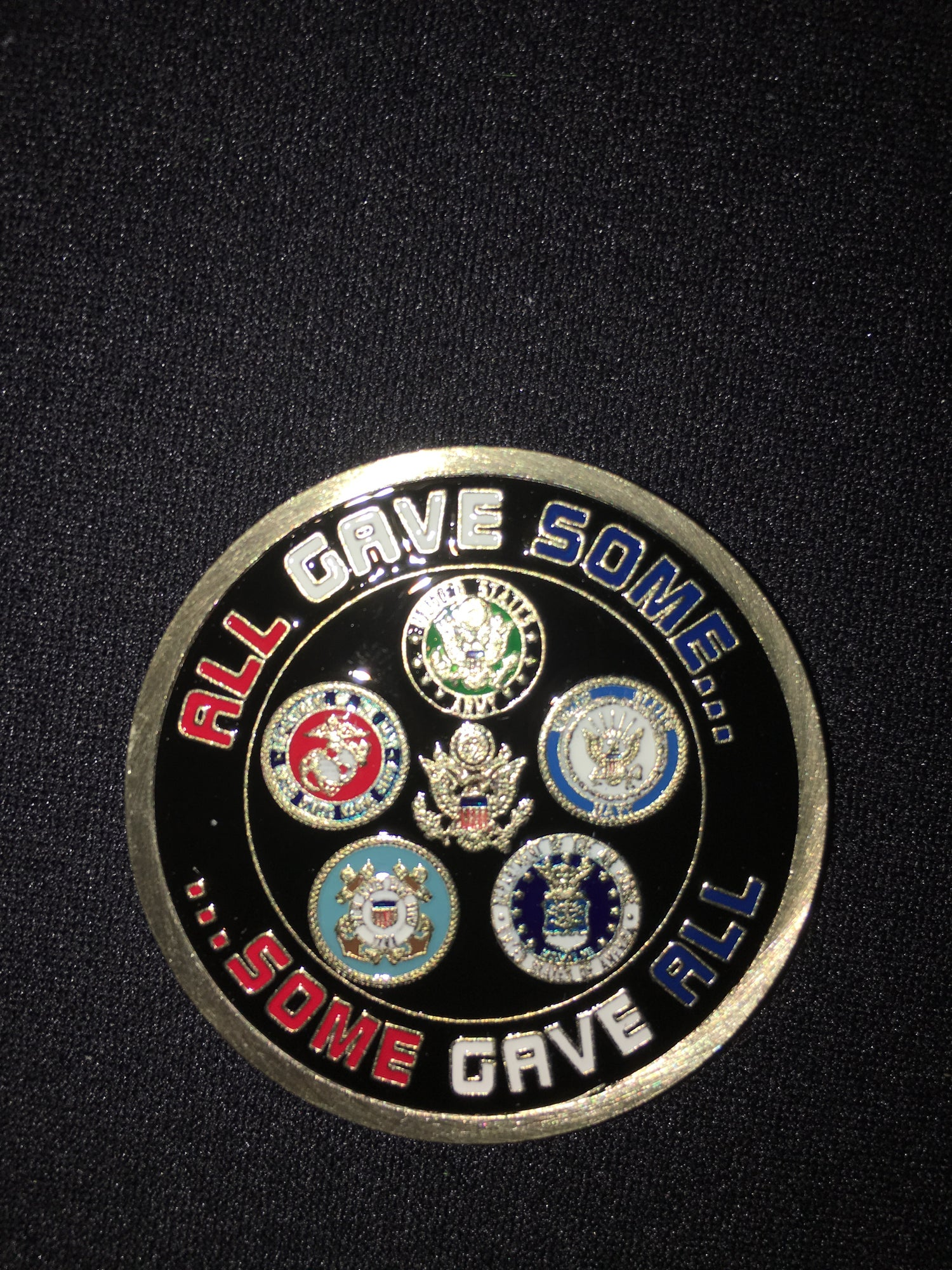 Image of Joy In The Cause Military Coin