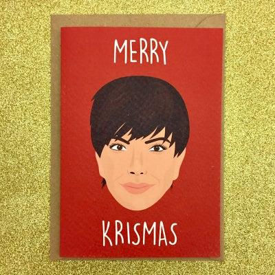Image of Kris Jenner Christmas Card