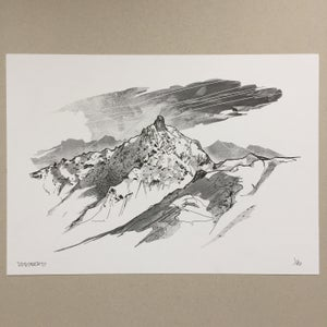 Image of A3 Meribel/Courchevel Risograph print, Edition of 40