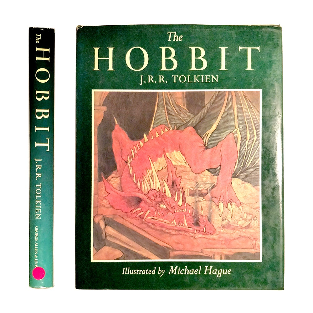 Image of J R R Tolkien - The Hobbit - Illustrated by Michael Hague