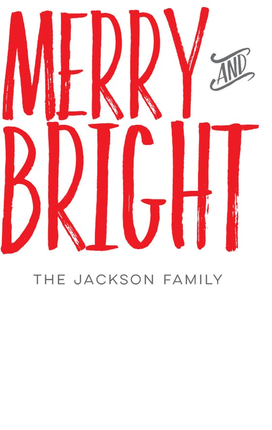 Image of Merry and Bright Adhesive Gift Tags