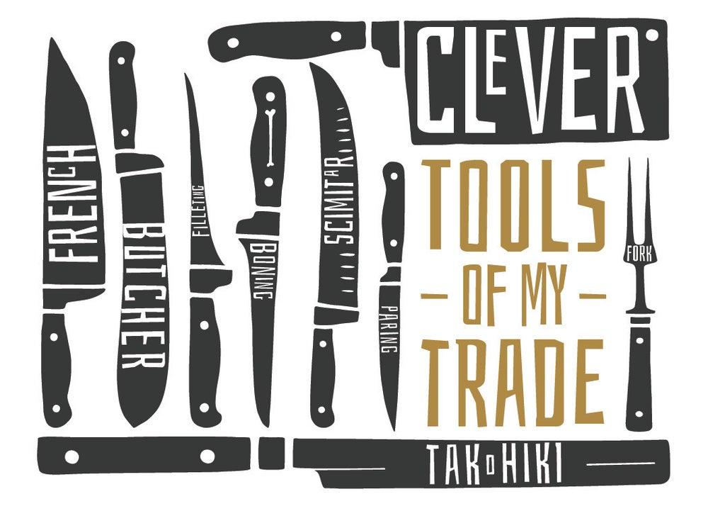 Image of Knives - Tools of my Trade Print