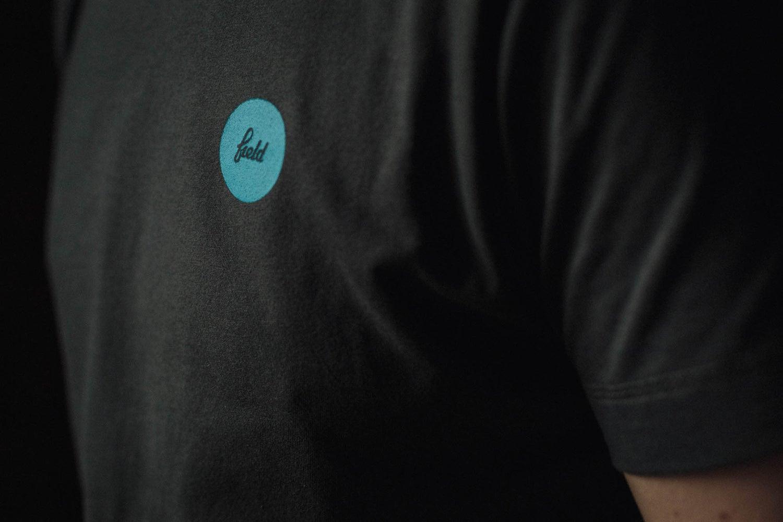 Image of Electric blue polka tee
