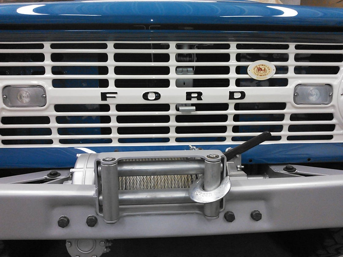 Image of Grille Letters
