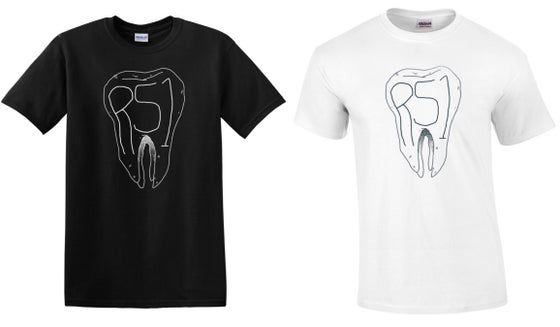 Image of Tooth T-Shirt (Black or White)