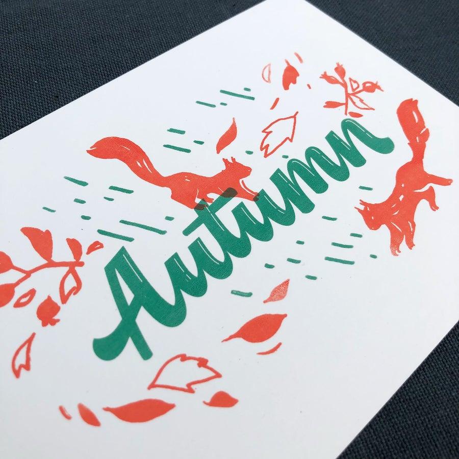 Image of Postcard Autumn