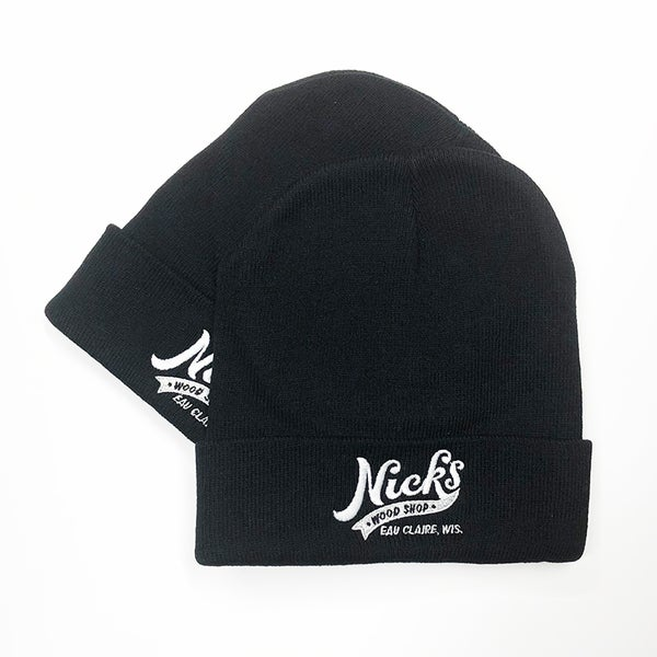 Image of Nick's Wood Shop Embroidered Beanie