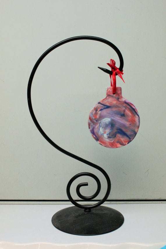 Image of Hand painted ornaments by kids for charity