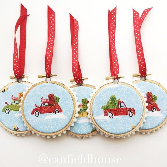 Image of Christmas Caravan Ornament