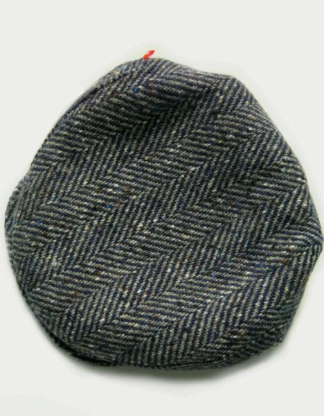 Image of 'VILLAIN' CAP [DONEGAL TWEED]