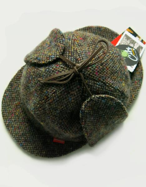 Image of 'SHERLOCK' HAT #6 [DONEGAL TWEED]