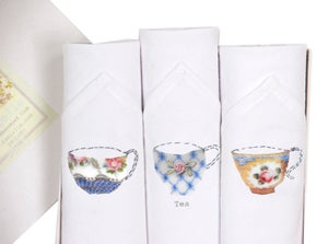 Image of Afternoon Tea Ladies Hankie Set