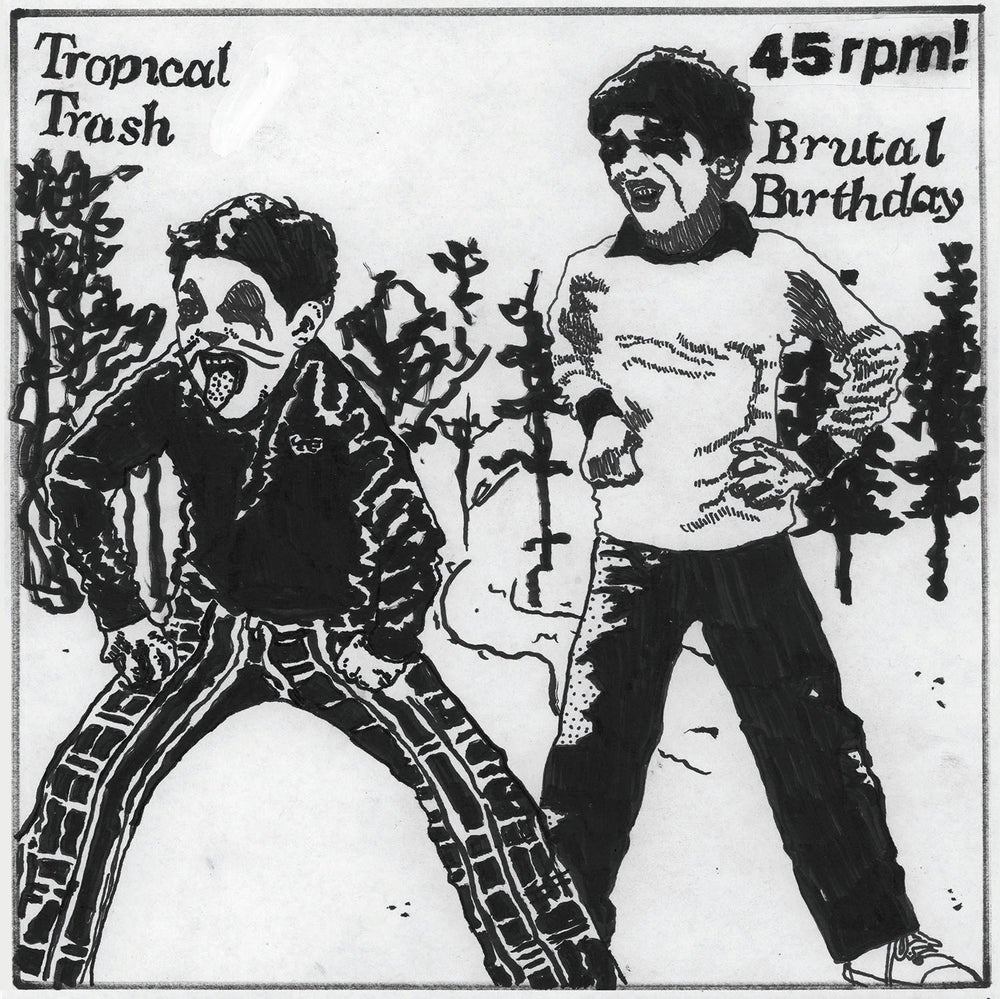 "Image of Tropical Trash / Brutal Birthday split 7"" (MDR22)"