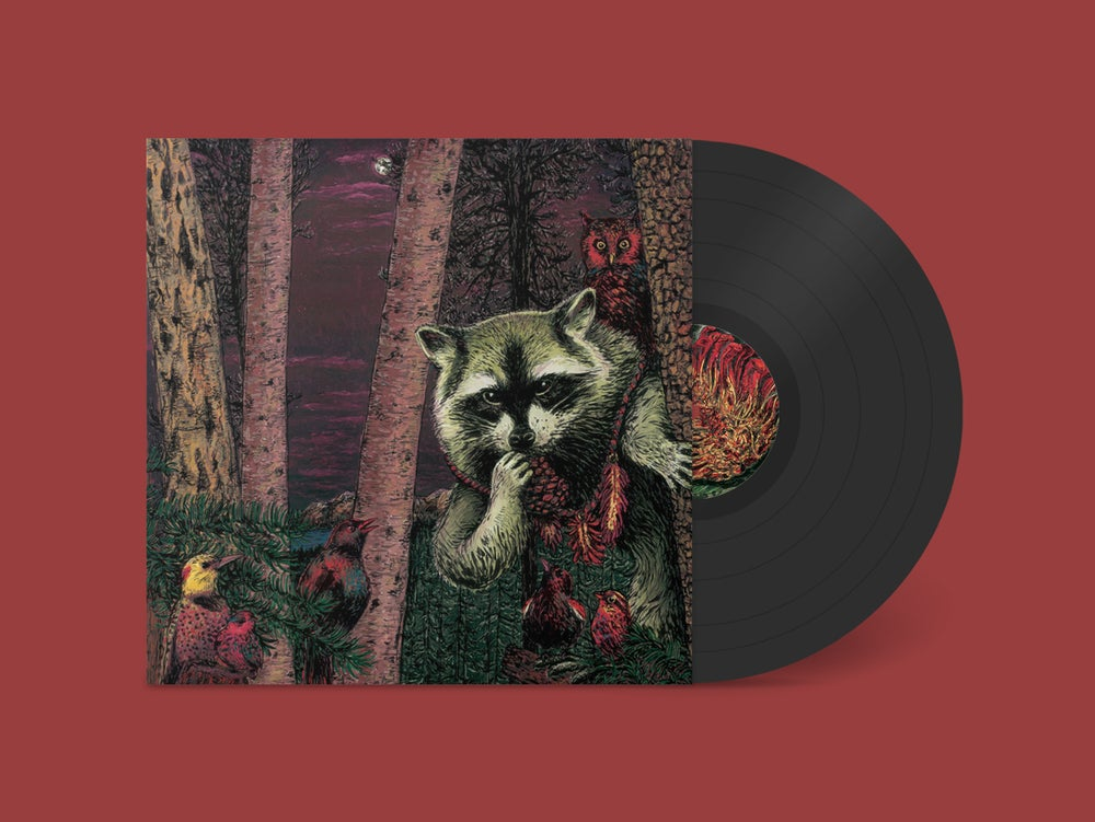 Image of Wild Raccoon - Half Pine Cone (LP)