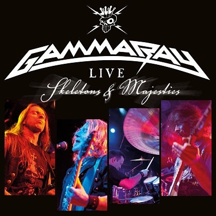 Image of GAMMA RAY - Live - Skeletons & Majesties - Édition 2 DVD