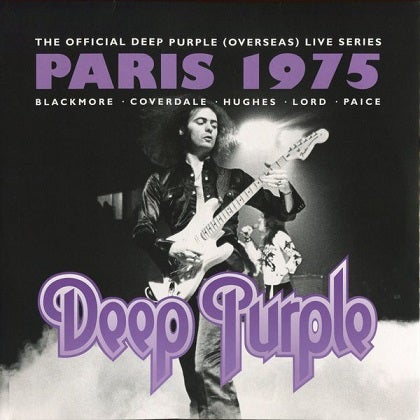 Image of DEEP PURPLE - Live In Paris 1975 - 2CD
