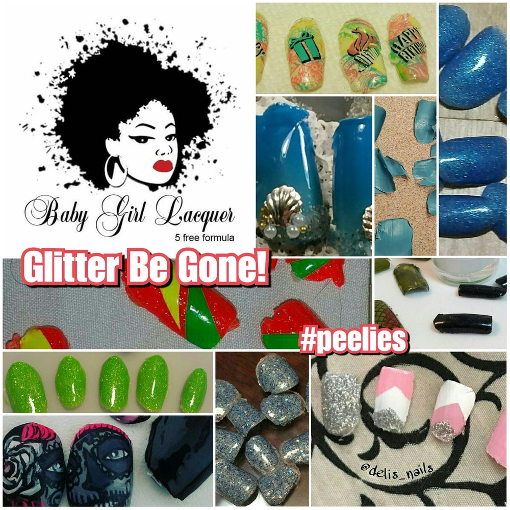 Image of Glitter Be Gone (POBC)! Best Seller! / Poof! Be Gone! /Clearly Marble-Ous