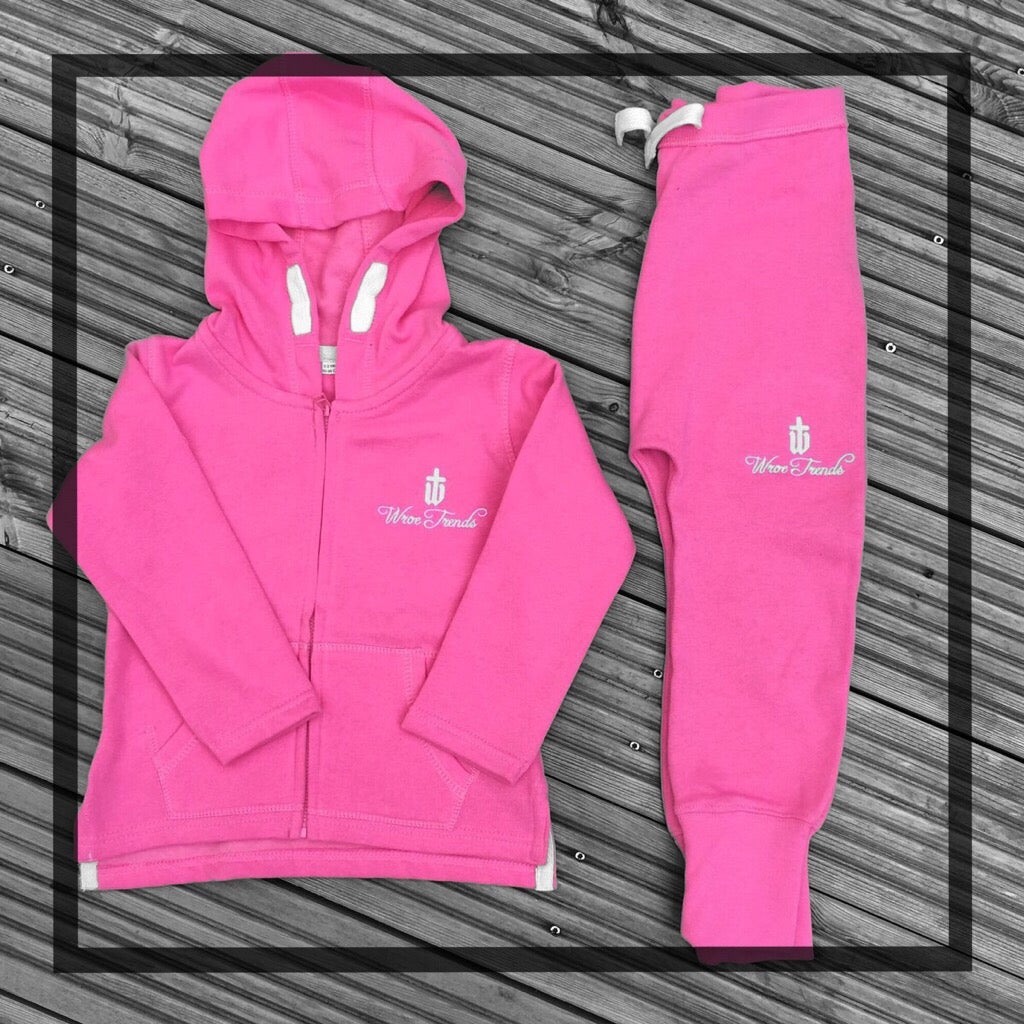 Image of BABY/TODDLER TRACKSUIT • PINK