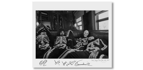 Image of CHRIS, SERGIO, TOM & IAN, LA, 2012 *SIGNED*