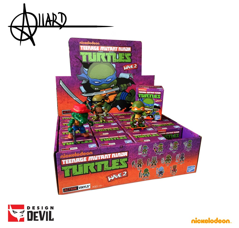 Image of Teenage Mutant Ninja Turtles Wave 2 Blind Box - Autographed
