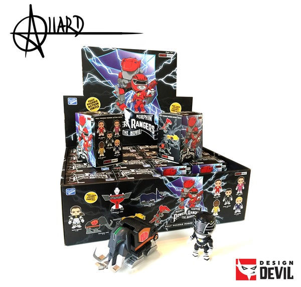 Image of Mighty Morphin Power Rangers The Movie Blind Box - Autographed