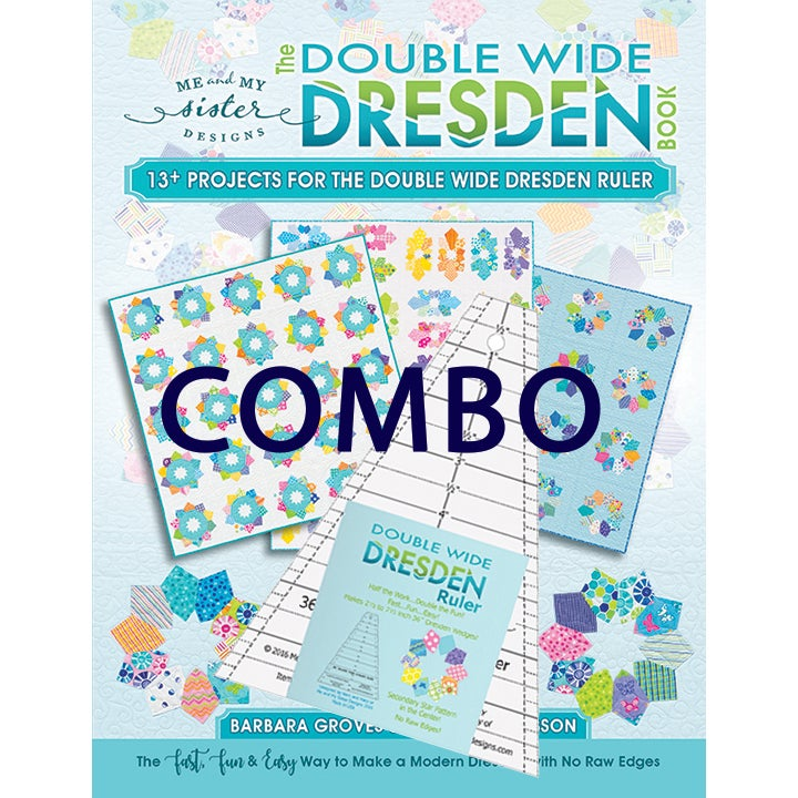Image of Double Wide Dresden Book & Ruler Combo