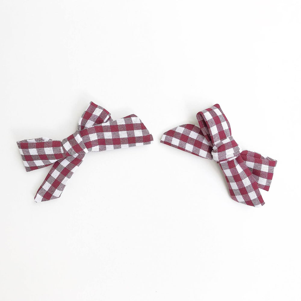 Image of Burgundy Clips